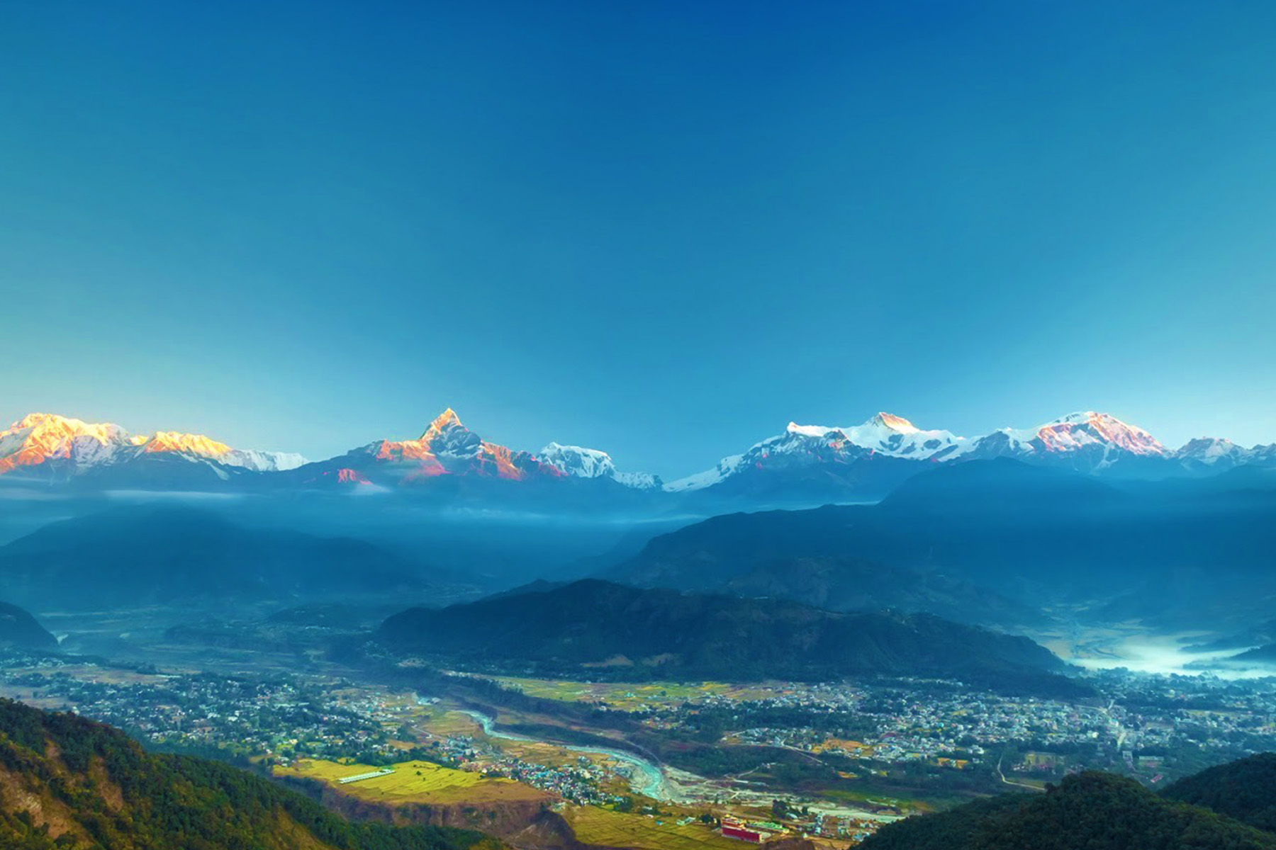 10 Days Nepal Tour with Trekking Experience